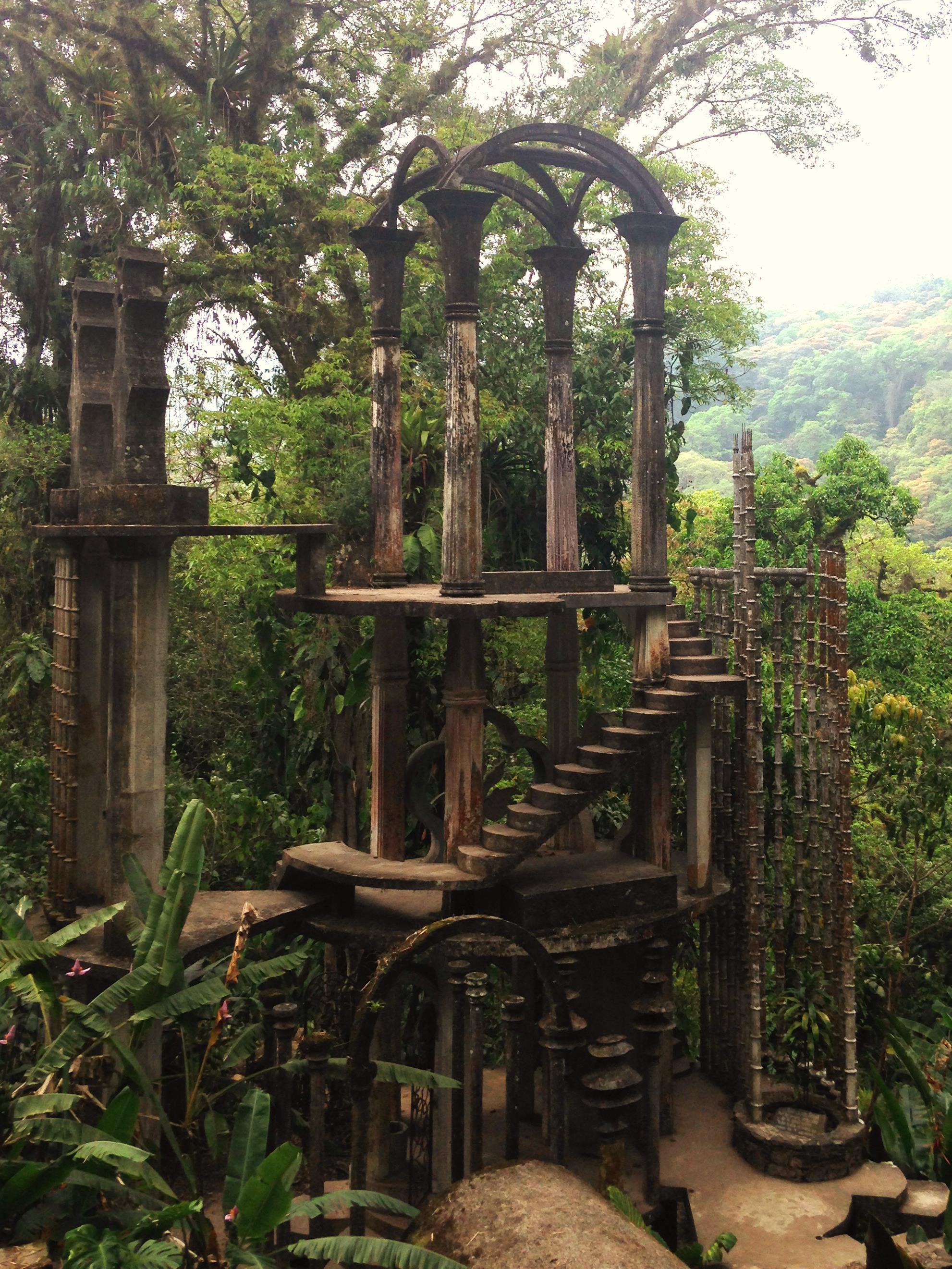 Xilitla m xico el jard n surrealista de edward james for Casa y jardin mexico