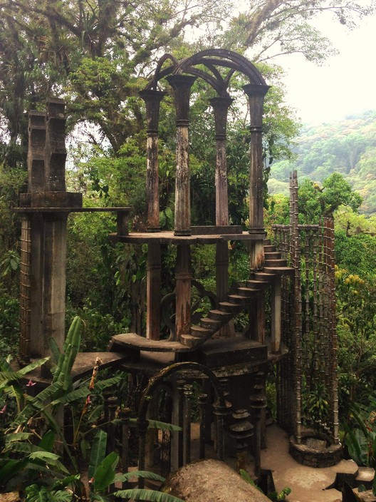 Inside Las Pozas, Edward James' Surrealist Garden in the Mexican Jungle  , © Victor Delaqua