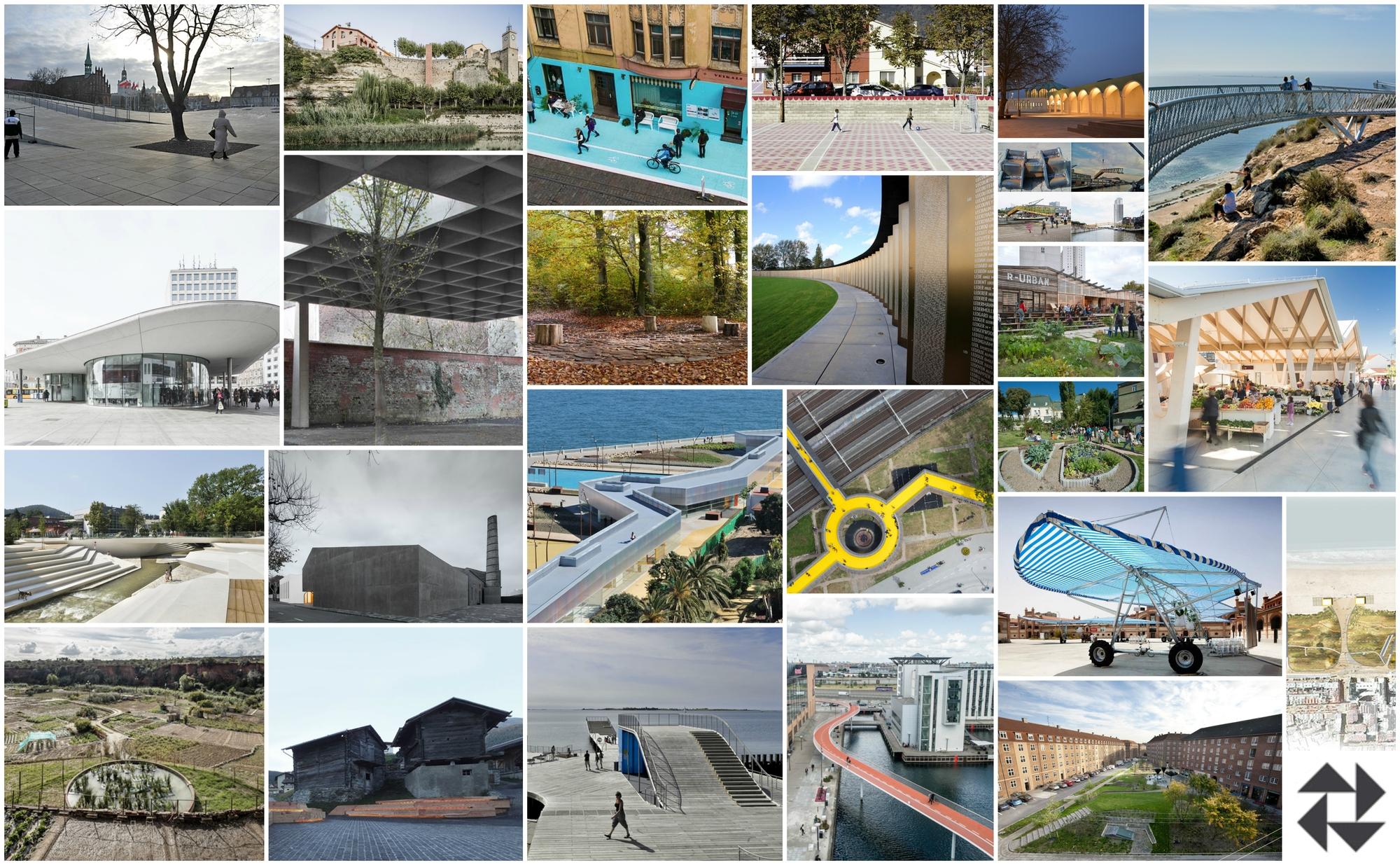 The european prize for urban public space names 25 for Mobiliario espacio publico