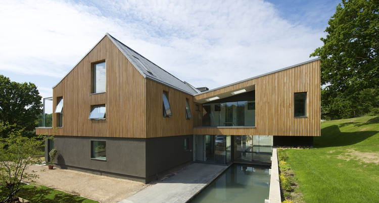 Nueva Casa, un pequeño campo en Inglaterra  / BBM Sustainable Architects Ltd, © Leigh Simpson