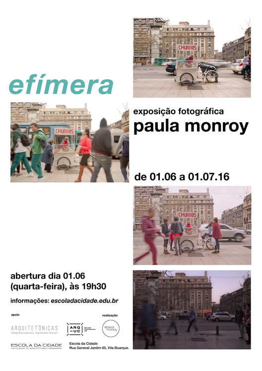 """Escola da Cidade promove exposição """"efímera"""""""