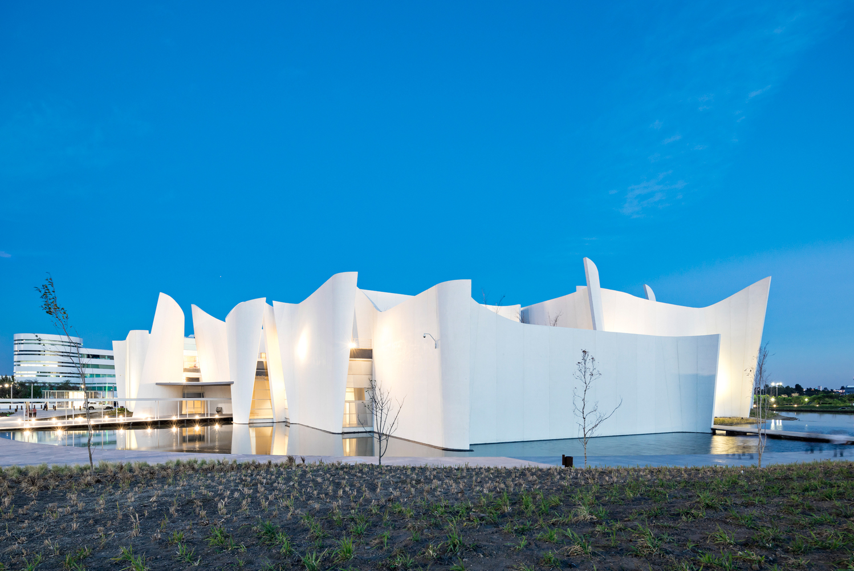 Vista del Museo Internacional del Barroco