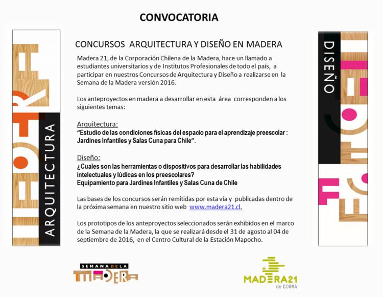 XI Concurso de Arquitectura en Madera CORMA 2016, Madera21