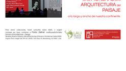 Convocatoria 'Pioneras de la arquitectura del paisaje latinoamericano'