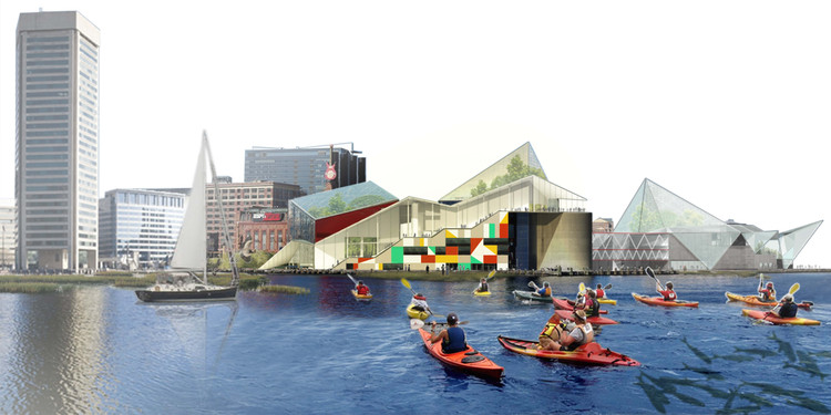 Studio Gang Designs the National Aquarium of the Future in Baltimore, Courtesy of Studio Gang
