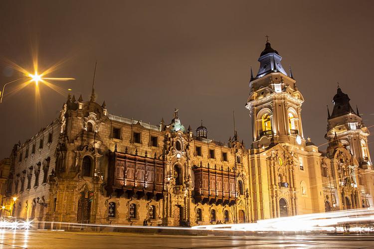 Recorre hitos arquitectónicos de Perú en 360 grados. Parte I: Arquitectura Eclesiástica, Palacio Arzobispal y Catedral de Lima. Image © Wikipedia User: Ms643. Licensed under the CC-BY-SA-3.0