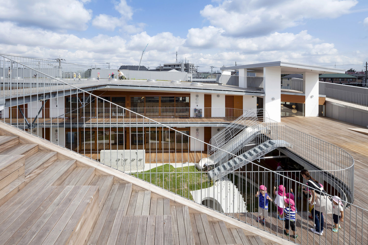 Gallery of amanenomori nursery school aisaka architects for De atelier architects