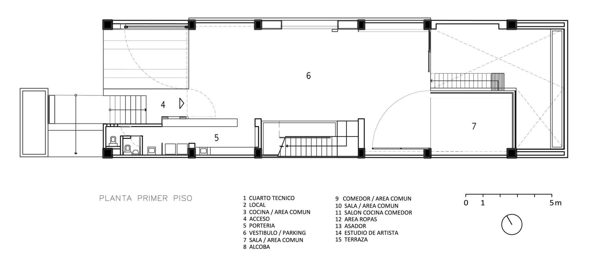 Galeria de edif cio boh o david delgado arquitectos 22 - Altura de un piso ...