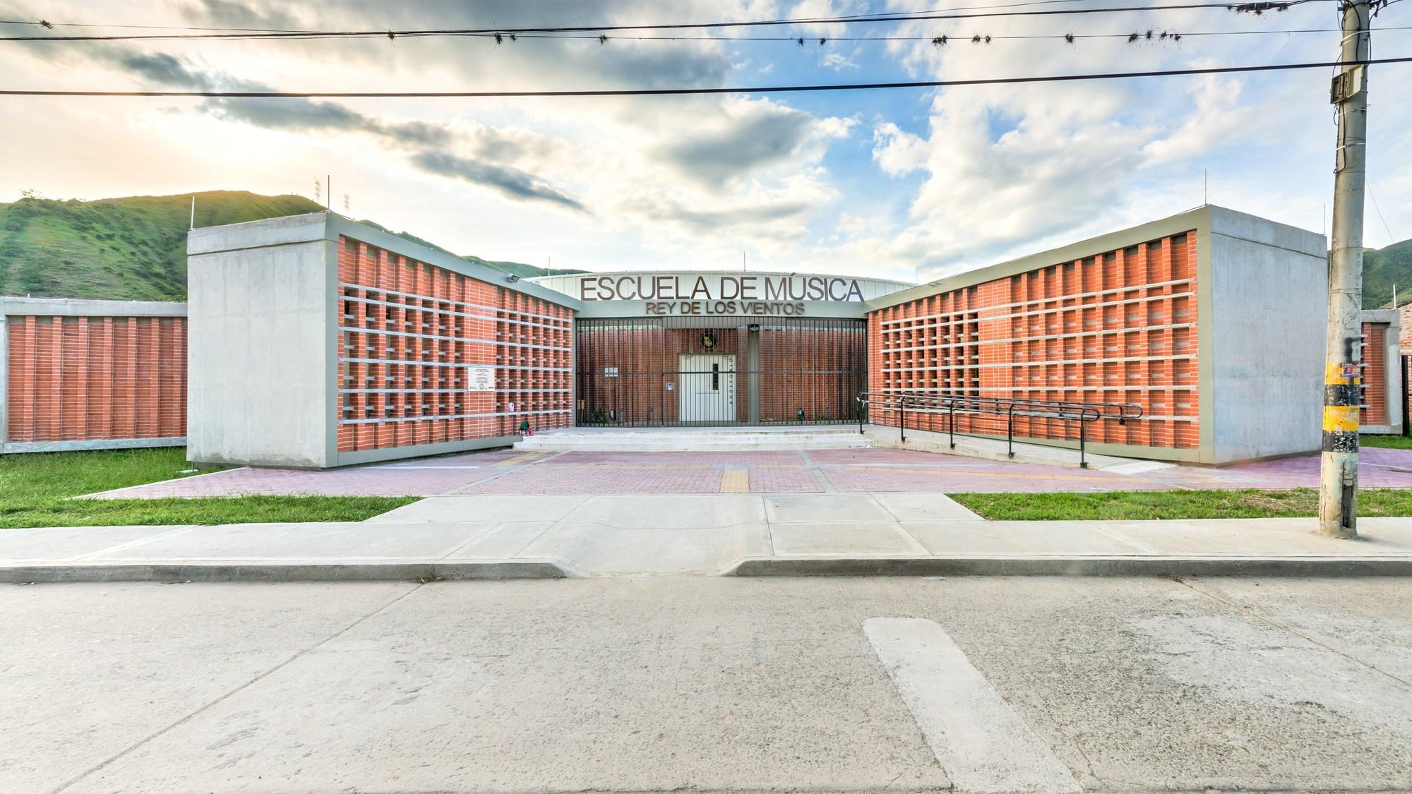 Escuela de musica yotoco espacio colectivo arquitectos - Escuela de arquitectura de valladolid ...