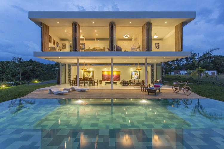 Casa Galería / Giovanni Moreno Arquitectos, © Luis Fernando Ramos