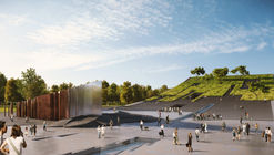 Napur Architect Designs a Bowed Building for the Ethnography Museum in Budapest