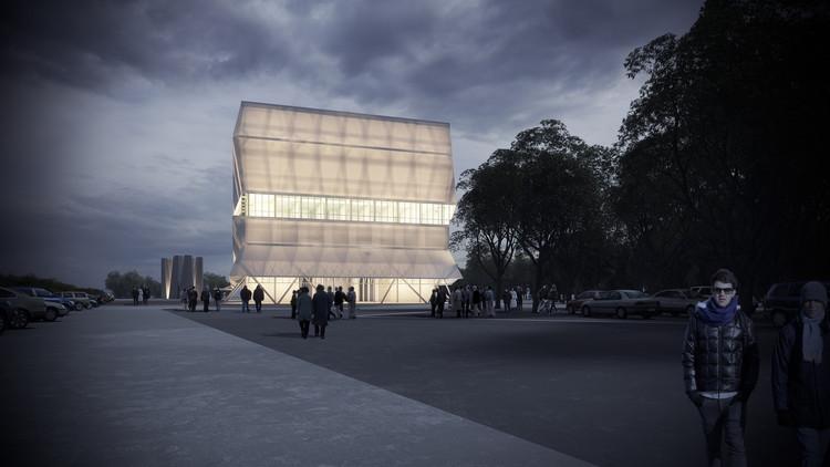 Teatro Regional del Biobío, diseñado por Smiljan Radic, finalizaría su construcción en 2017, Propuesta ganadora del Teatro Regional del Biobío. Image Cortesía de Consejo Nacional de la Cultura y las Artes