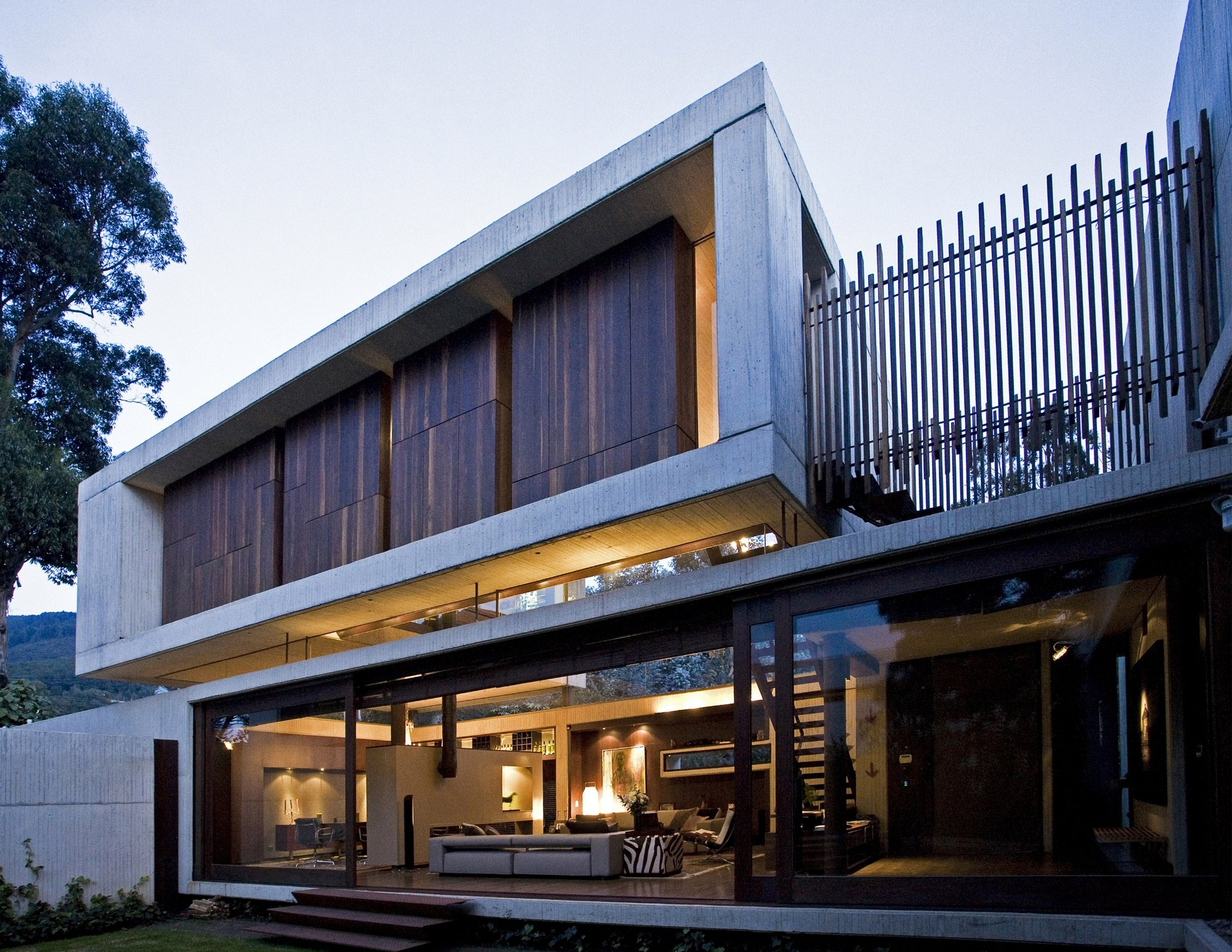 Casas mellizas mgp arquitectura y urbanismo plataforma Arquitectura y construccion de casas
