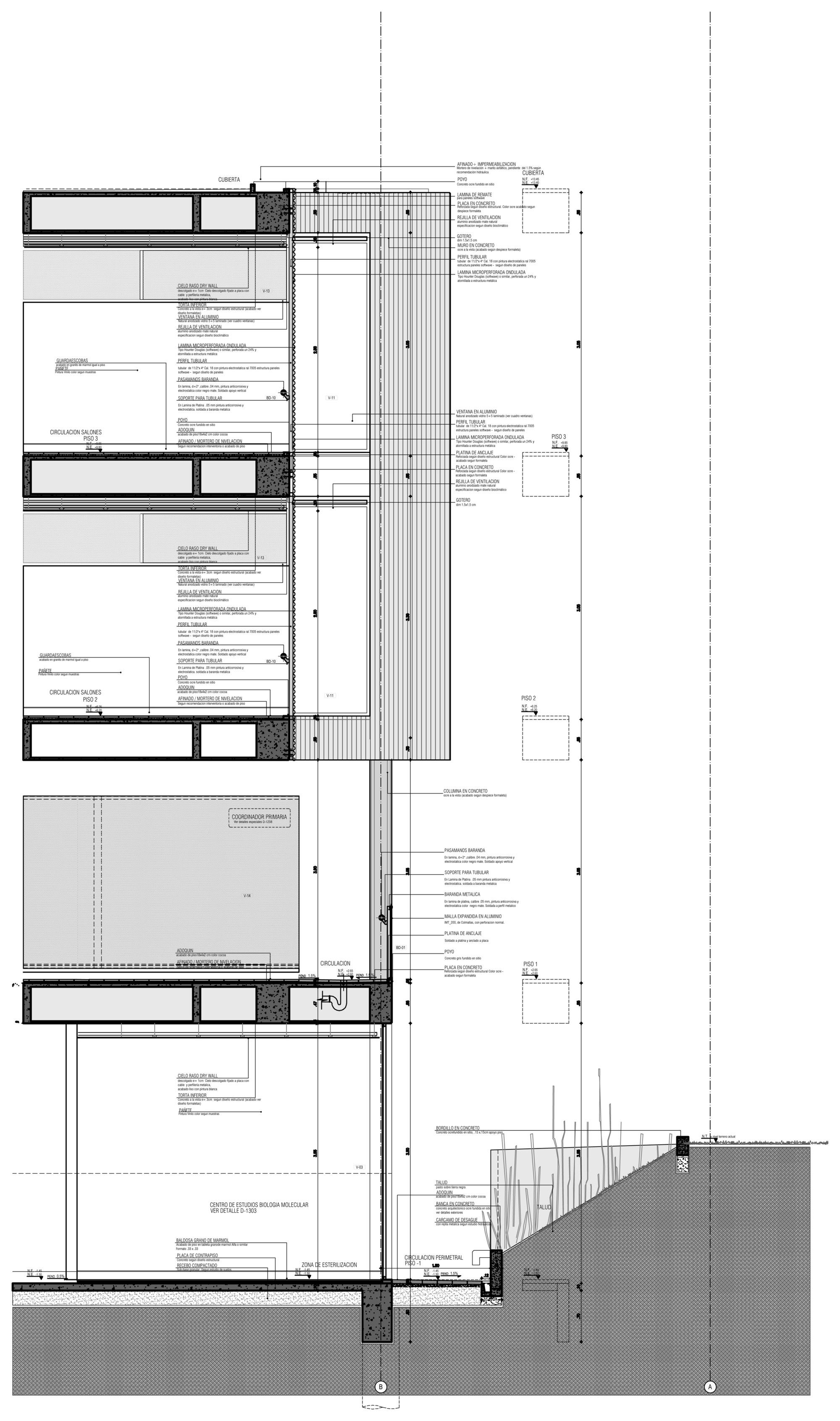 Galer a de gimnasio campestre mgp arquitectura y for Gimnasio 9 y 57