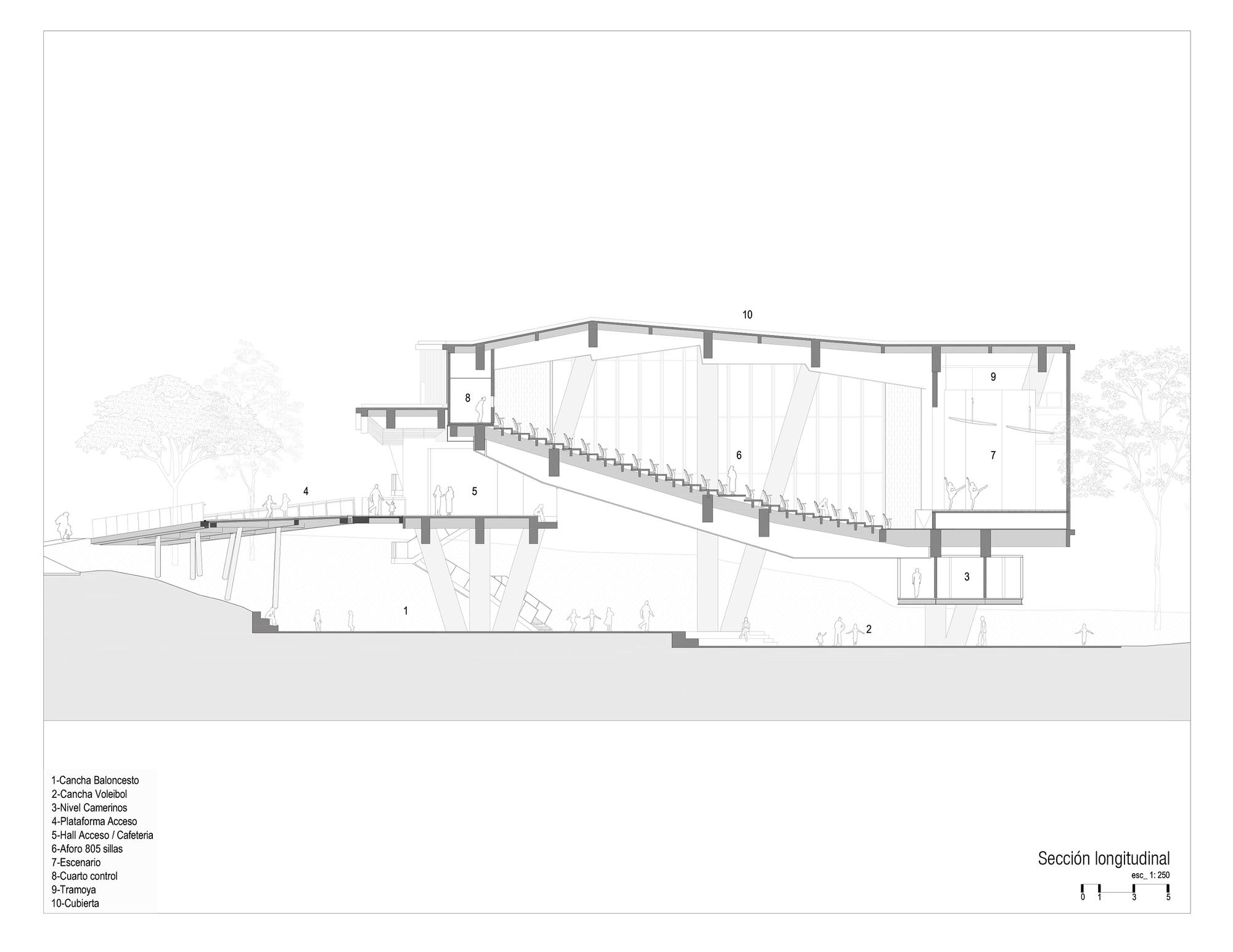 Longitudinal Plan Building