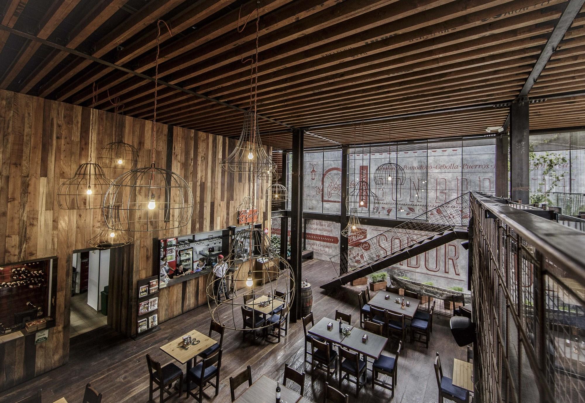 Restaurant Il Forno / PLASMA NODO + Llano Arquitectos