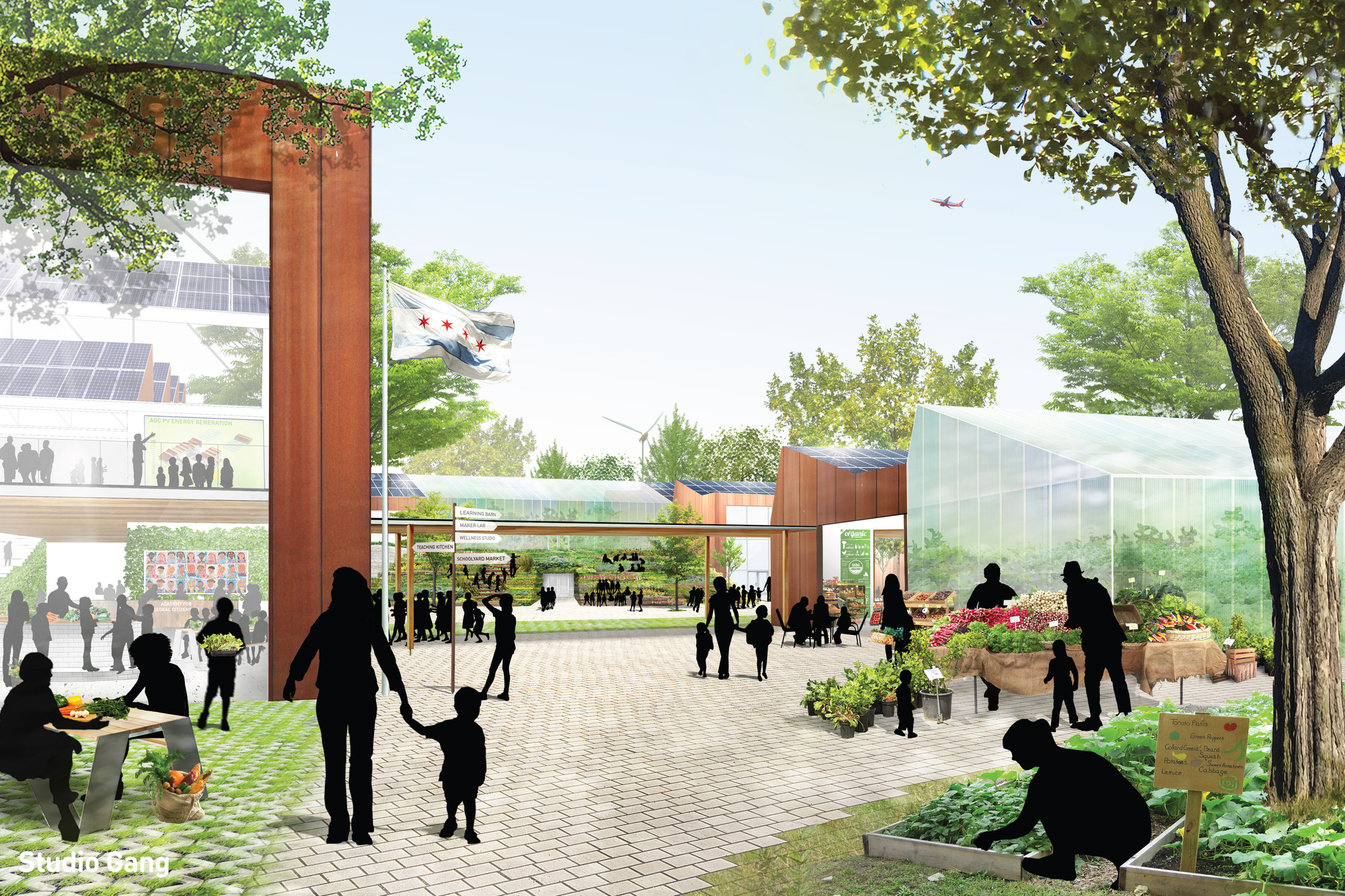 Studio Gang Designs A Chicago Charter School With