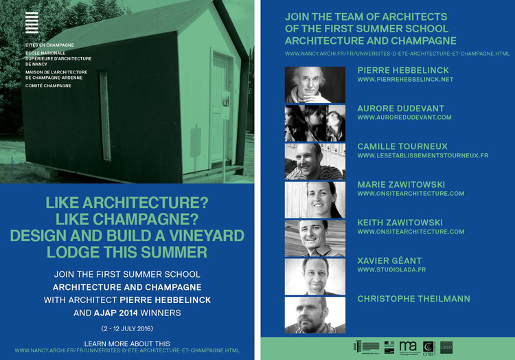 Architecture + Champagne Summer Design/Build