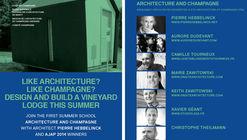 Architecture + Champagne Summer Design/Build