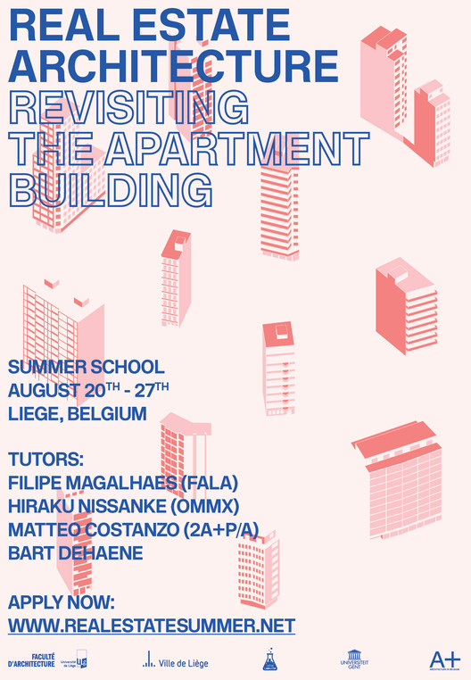Real Estate Architecture - Revisiting the Apartment Building - Summer School