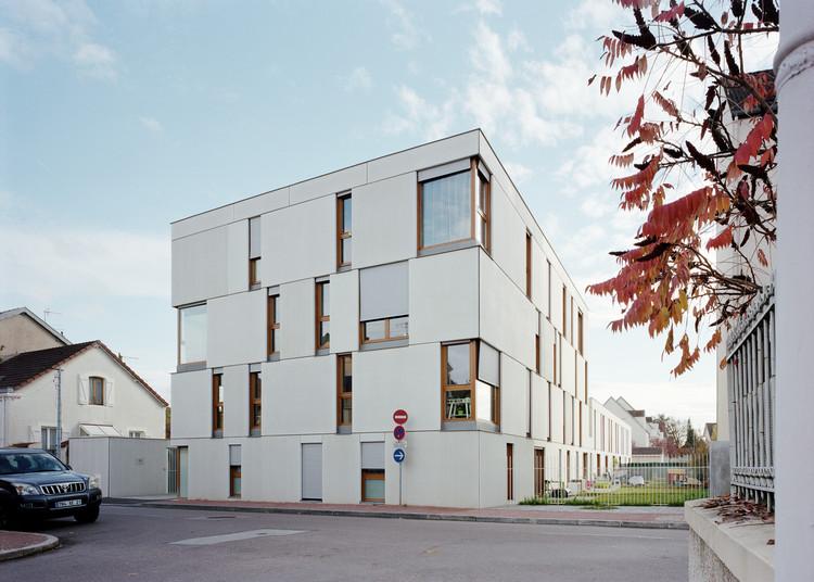 Dijon Concrete Housings  / Ateliers O-S Architectes, Courtesy of Ateliers O-S Architectes