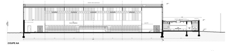 gym enoseis eno architectes archdaily per. Black Bedroom Furniture Sets. Home Design Ideas