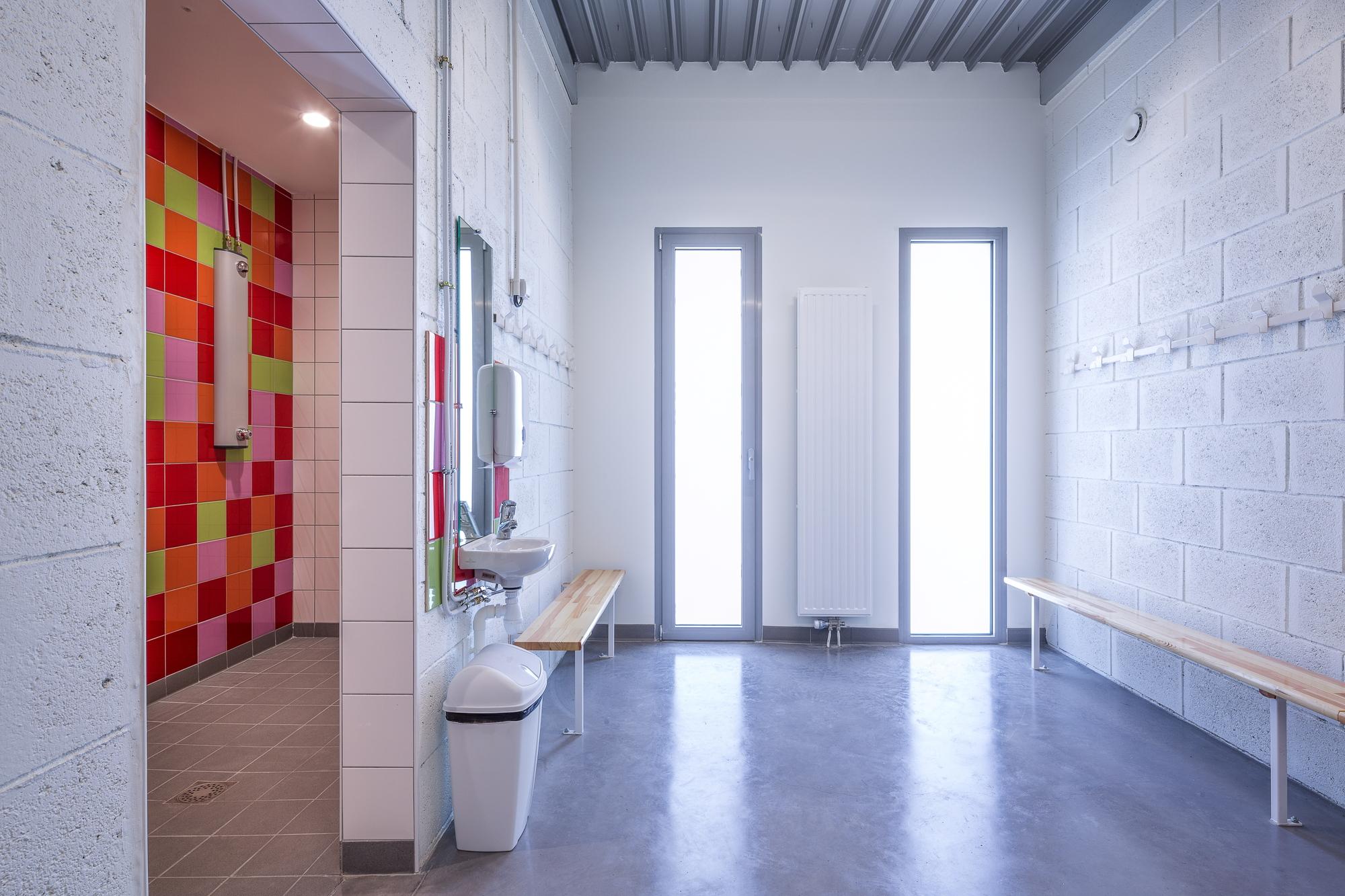galer a de gym enoseis eno architectes 5. Black Bedroom Furniture Sets. Home Design Ideas