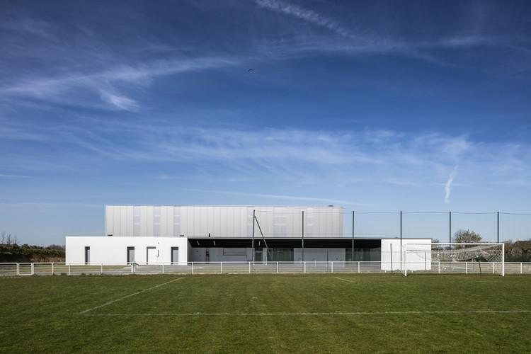 Gym Enoseis  / ENO Architectes, © Pascal Leopold