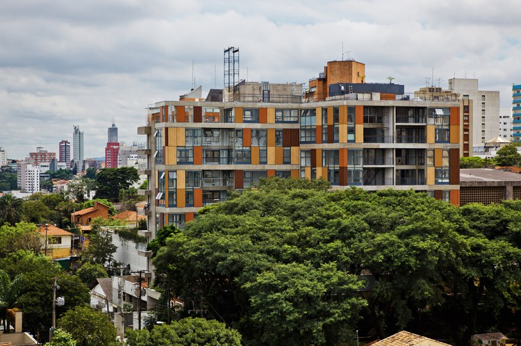 Edificio Fidalga / Andrade Morettin Arquitetos Associados, © Nelson Kon