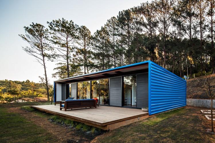 OZ House / Andrade Morettin Arquitetos Associados, © Nelson Kon