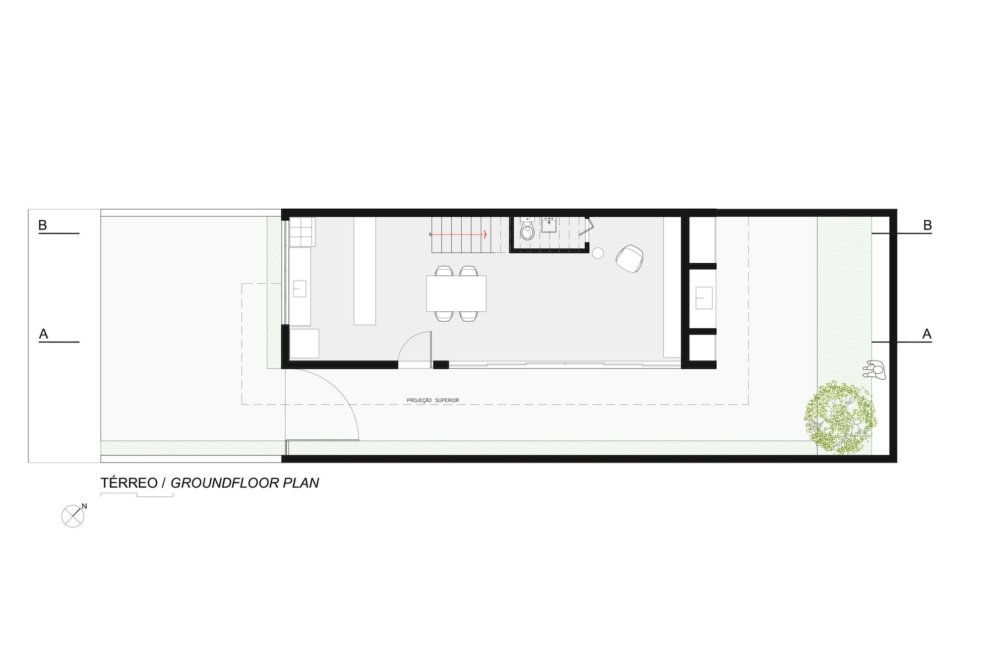 Galeria de casa sorocaba estudio bra arquitetura 34 for Casa minimalista de 6 x 20