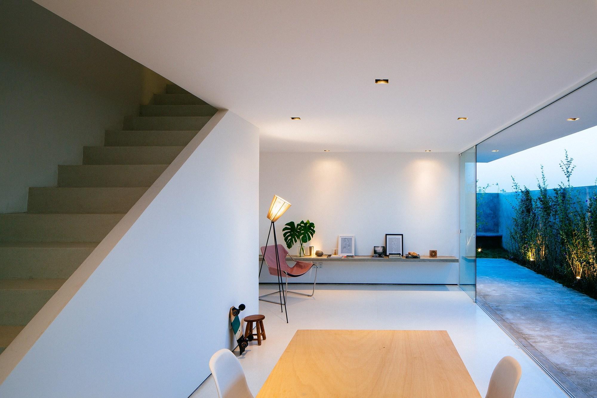 Gallery of sorocaba house estudio bra arquitetura 19 - Casas minimalistas por dentro ...