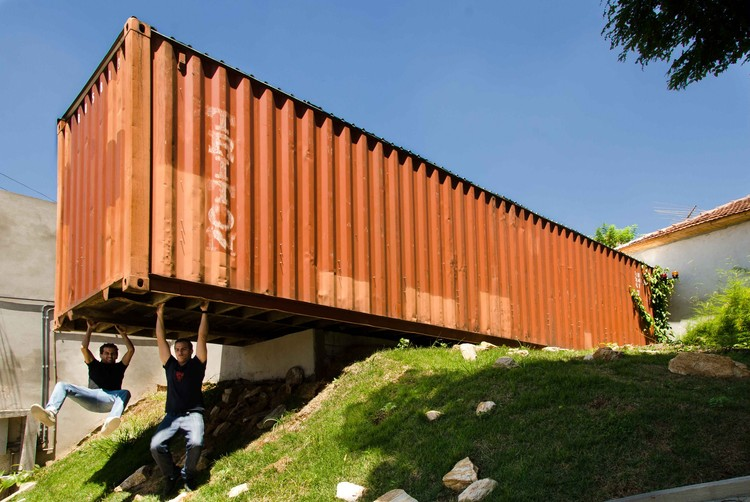 Container Project / H²O Arquitetura, © Guilherme Rebelo