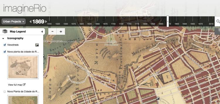 Rice University cria mapa interativo que mostra a evolução do Rio de Janeiro de 1500 até hoje
