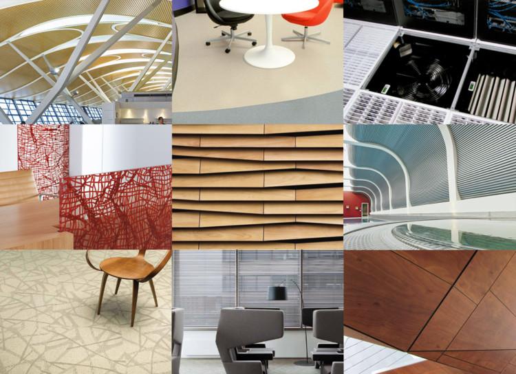 Materiales terminaciones interiores plataforma arquitectura Diseno de ambientes y arquitectura de interiores