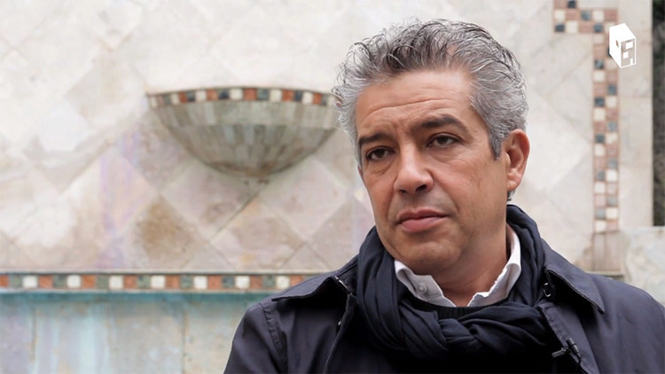 Aires Mateus e Souto de Moura participam da exposição portuguesa na Bienal de Veneza 2016, Francisco Aires Mateus. Fonte da imagem: screenshot da entrevista com o ArchDaily Brasil