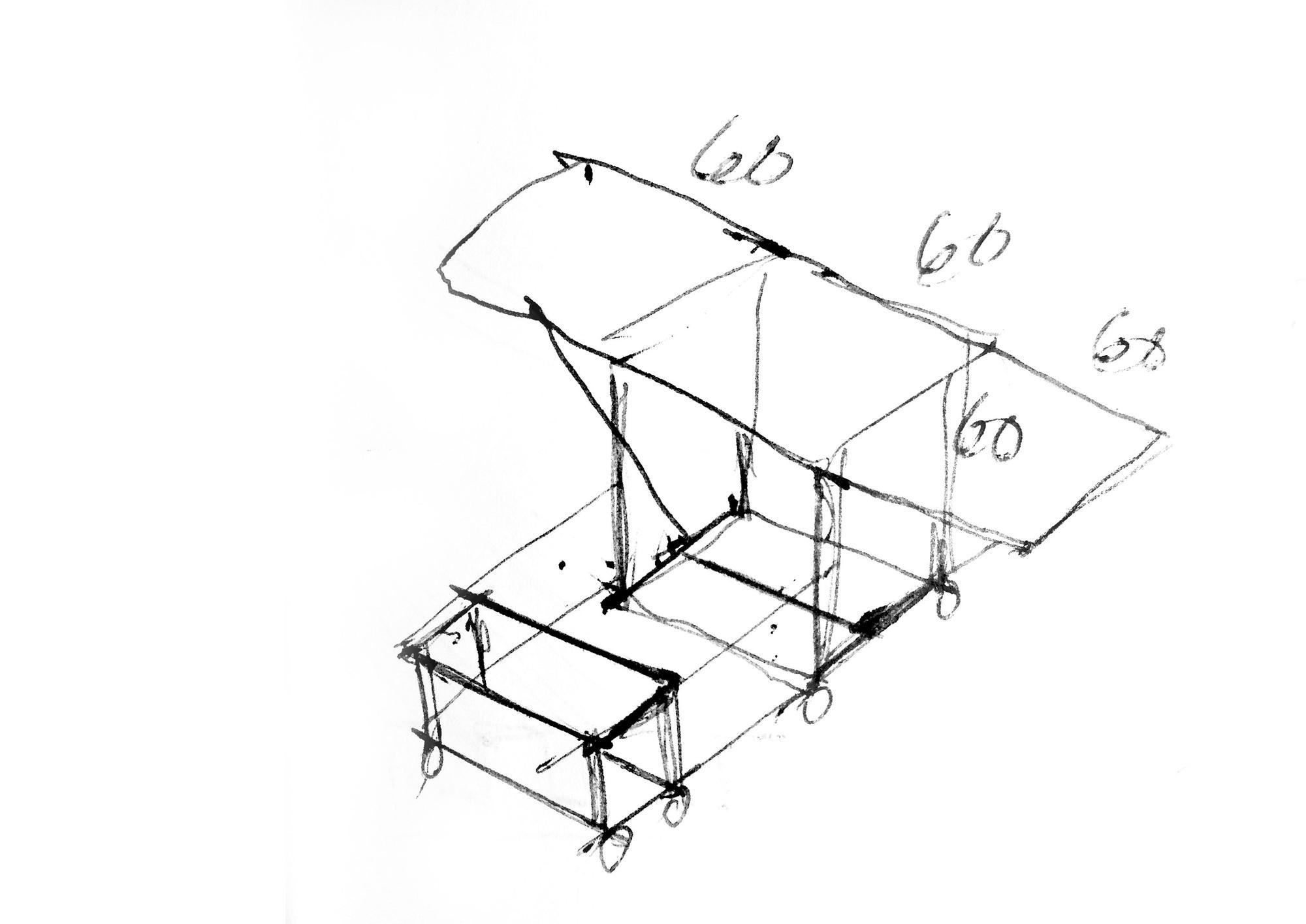 Galeria De Mesa Lateral Dobr Vel Ten Muebles 10 # Federico Muebles