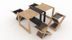 Foldable Side Table  / TEN Muebles