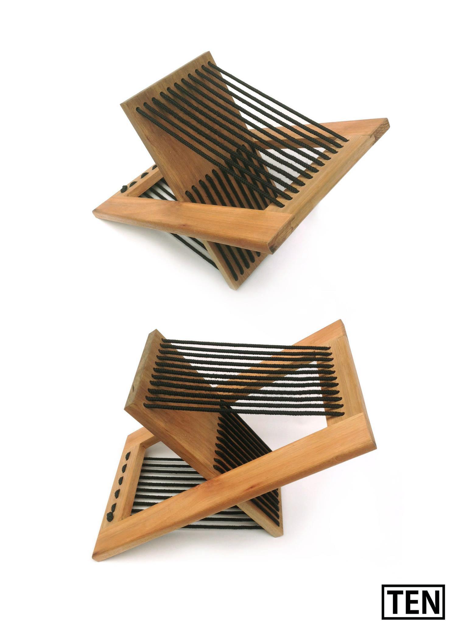 Galeria De Mesa Lateral Dobr Vel Ten Muebles 6 # Federico Muebles