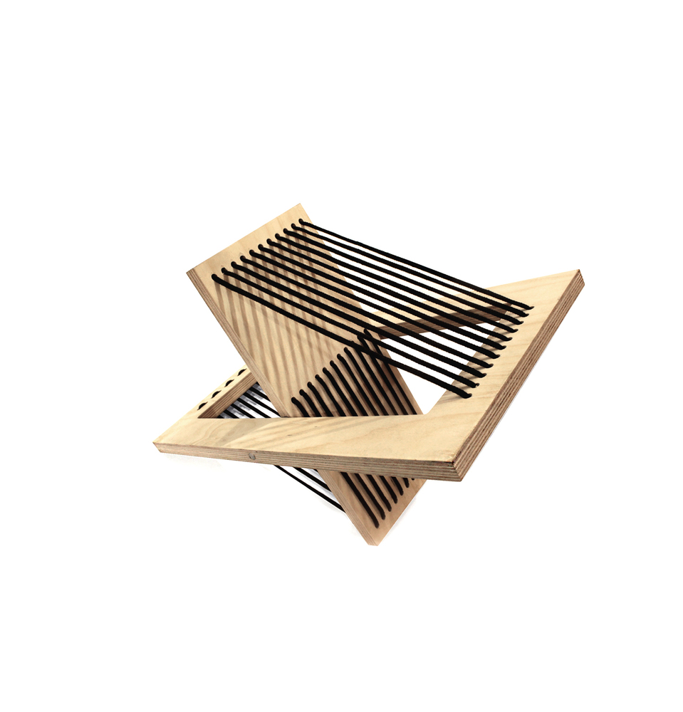Galeria De Mesa Lateral Dobr Vel Ten Muebles 4 # Federico Muebles