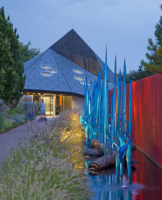 Denver Botanic Gardens' Science Pyramid  / BURKETTDESIGN, Courtesy of BURKETTDESIGN