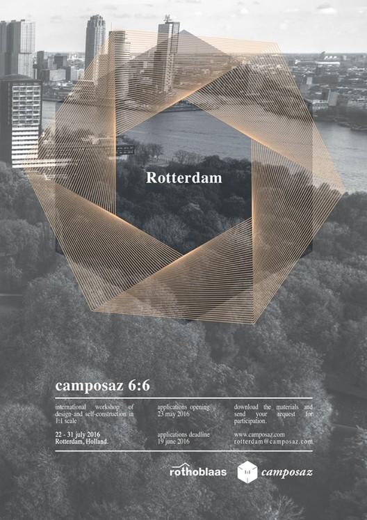 Taller de diseño arquitectónico a escala 1:1 en Rotterdam, Camposaz Rotterdam