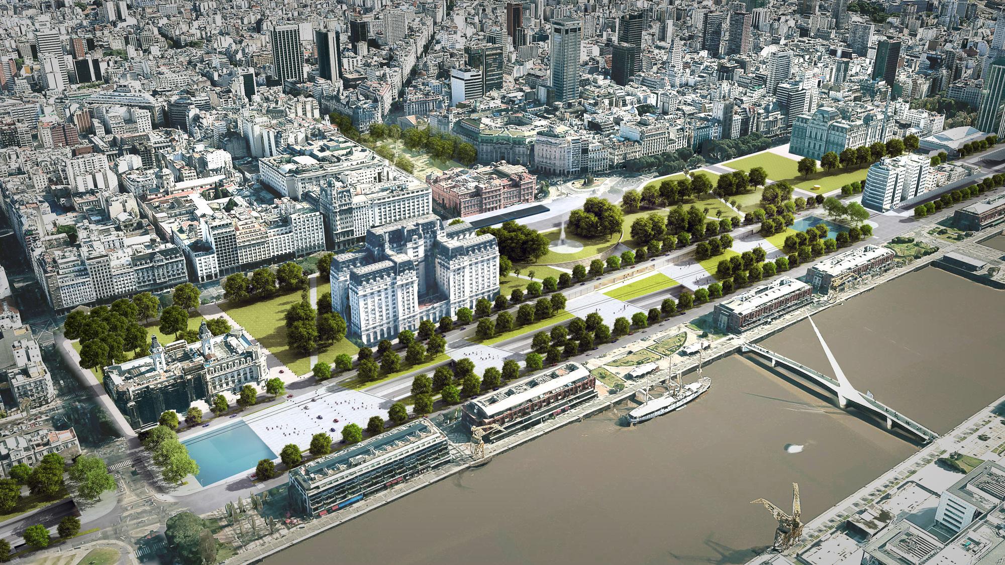 El proyecto que podr a reconfigurar puerto madero y retiro for Arquitectura de proyectos