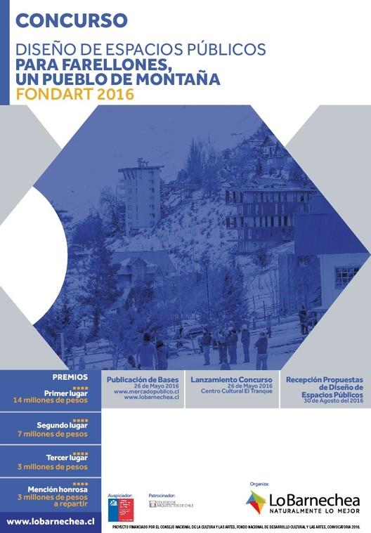 Concurso de arquitectura 'Diseño de Espacios Públicos para Farellones, un pueblo de montaña'