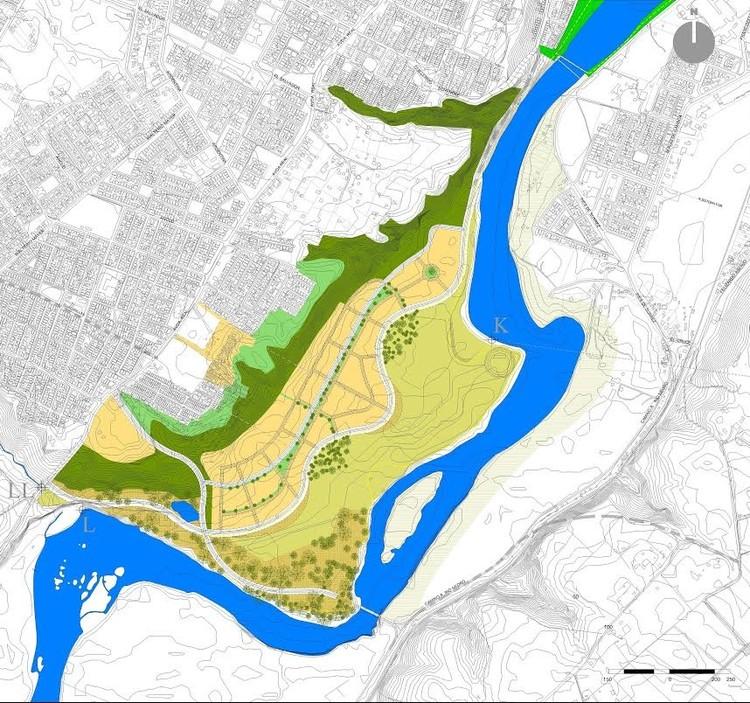 Estudios previos modificación Plan Regulador Comunal de Osorno - Seccional Barrio Parque Integrado, Sector Rahue Bajo