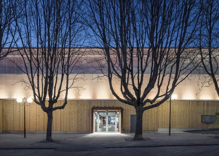 Östermalm's Temporary Market Hall  / Tengbom, © Felix Gerlach