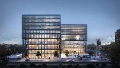 """KAAN Architecten's Winning Design for an Amsterdam Courthouse """"Exudes Openness"""""""