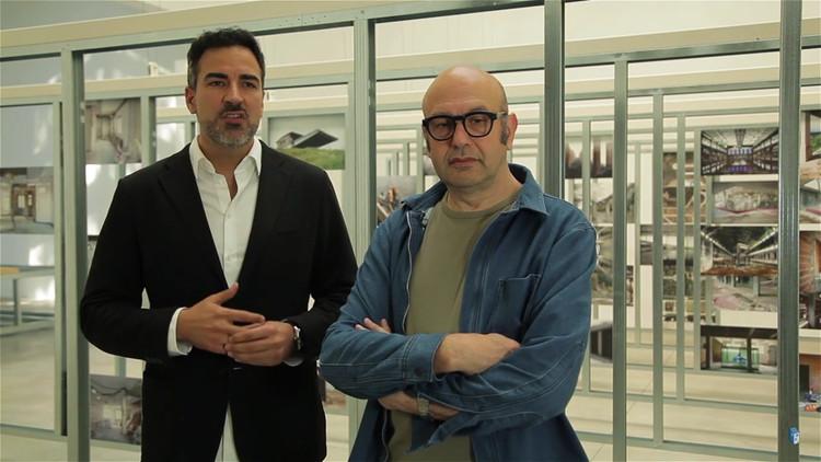 'UNFINISHED' de España: Ganador del León de Oro en Bienal de Venecia 2016, Iñaqui Carnicero y Carlos Quintans, comisiarios del pabellón de España. Image