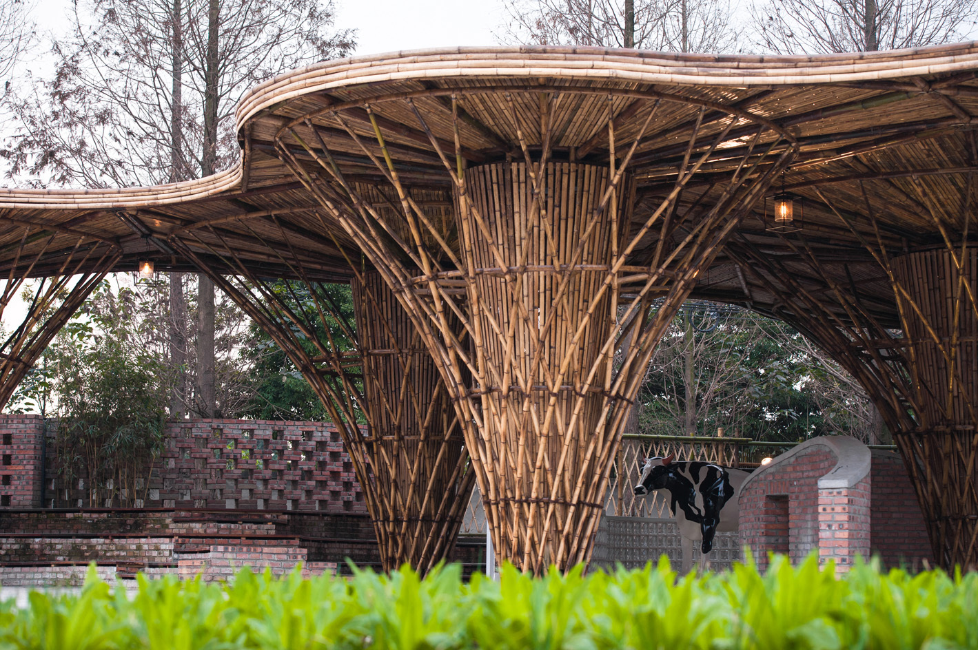 Bamboo Building Architecture Projects
