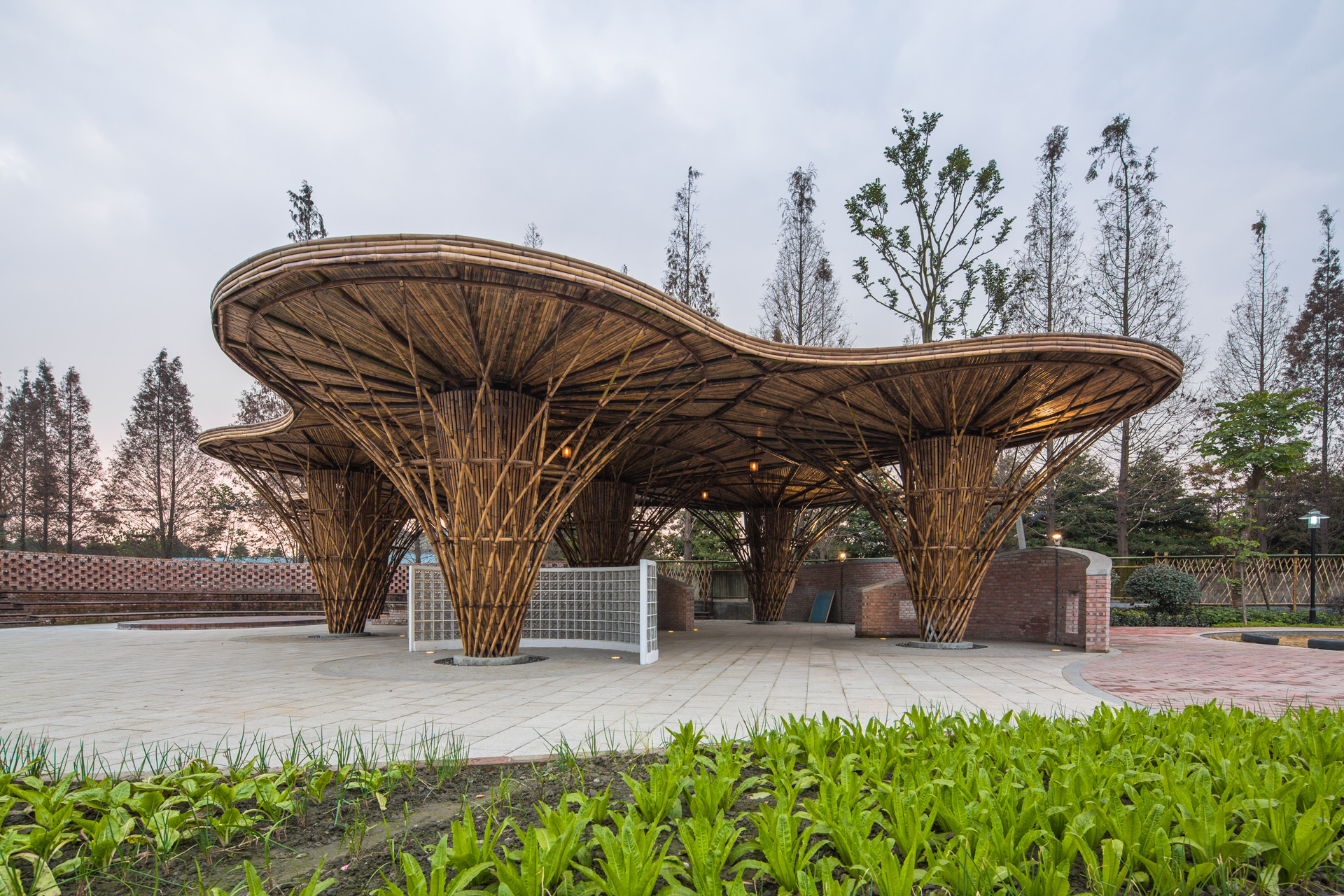 The bamboo garden atelier rep archdaily for Architecture jardin